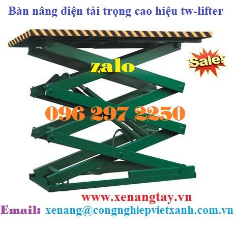 Bàn nâng điện tải trọng cao hiệu tw-lifter