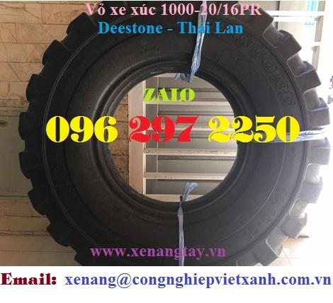 Vỏ xe xúc 1000-20/16PR Deestone - Thái Lan