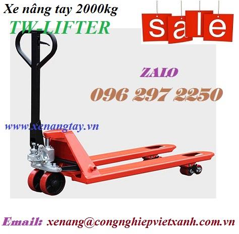 Xe nâng tay 2000kg TW-LIFTER