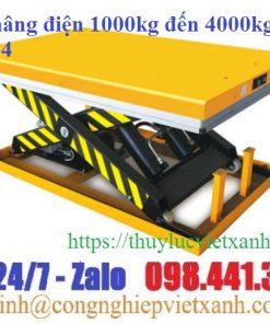 Bàn nâng điện 300kg - 10 tấn