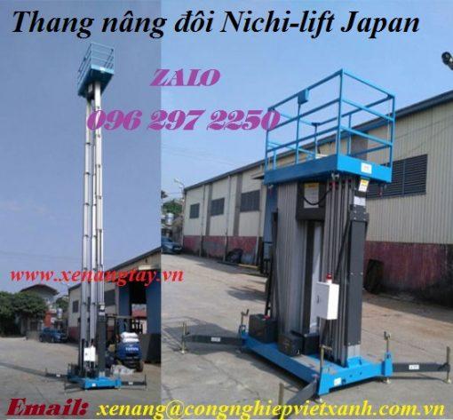 Thang nâng đôi Nichi-lift Japan