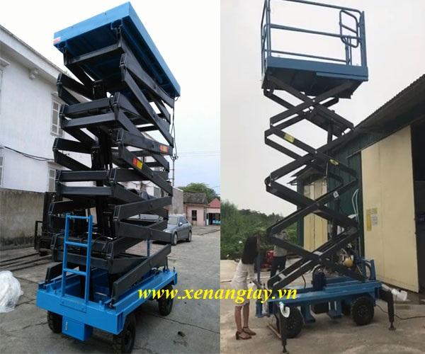 Thang nâng người 9m Nichi-Lift 500kg