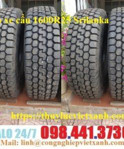 Vỏ xe cẩu 1600R25 Srilanka