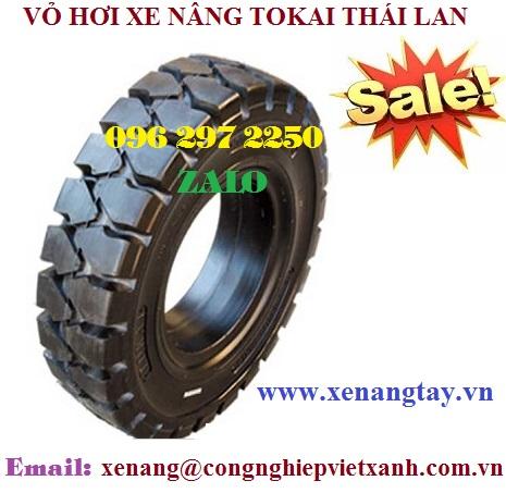 Vỏ xe nâng Tokai Thái Lan