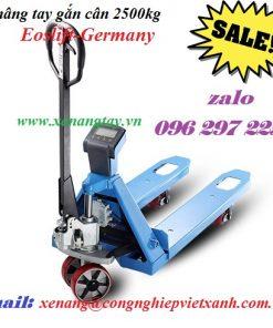 Xe nâng tay gắn cân 2500kgEoslift-Germany