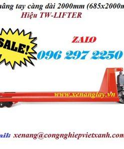 Xe nâng tay càng dài 2000mm (685x2000mm) TW-LIFTER