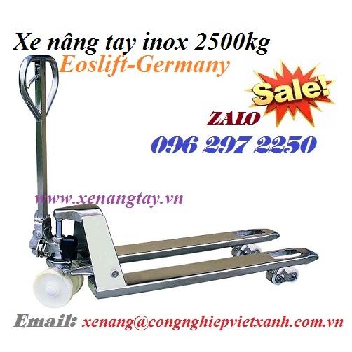 Xe nâng tay 2500kg Eoslift-Germany