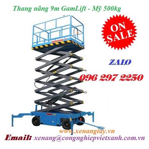 Thang nâng 9m GamLift – Mỹ 500kg