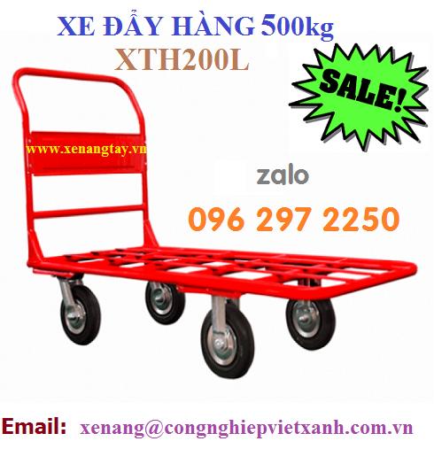 Xe đẩy 500kg XTH200L