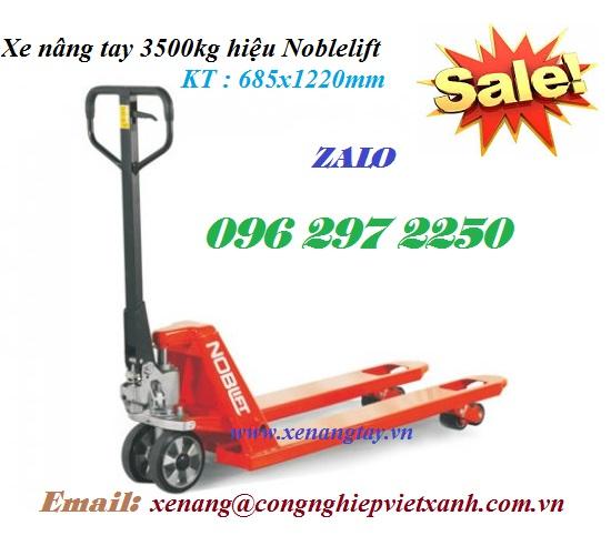 Xe nâng tay 3500kg hiệu Noblelift