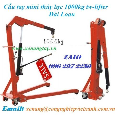 Cẩu tay mini thủy lực 1000kg tw-lifter Đài Loan